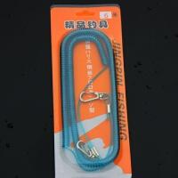 鱼竿失手绳钢丝伸缩自动护竿放杆绳 钓鱼用品垂钓装备渔具配件