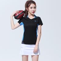 羽毛球服套装男女款运动服速干短袖球衣网球裙裤团购比赛队服