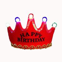 生日帽子男童 礼帽头饰女式帽子王冠男童男儿童帽生日头饰小公主帽