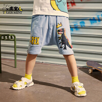 【2件3折:55.5元】小虎宝儿儿童五分裤2021夏季新款休闲儿童短裤薄款中大童