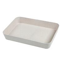 抽屉内分隔整理盒厨房柜餐具刀叉筷子勺收纳盒塑料文具分割分类格