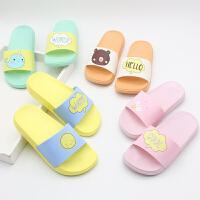儿童拖鞋夏男童女童小中大童软底防滑室内宝宝洗澡凉拖鞋