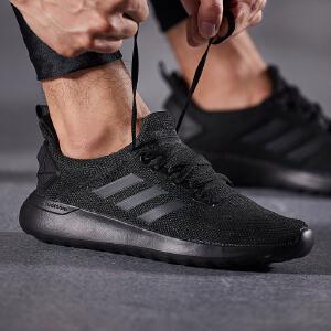 adidas阿迪达斯NEO男子休闲鞋2018新款跑步减震休闲运动鞋DA9853 ZT