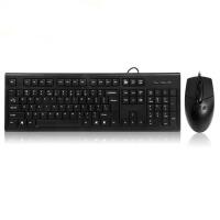 双飞燕 KR-8572NU 有线USB方口防水光电键鼠套装 游戏/办公鼠标键盘套装