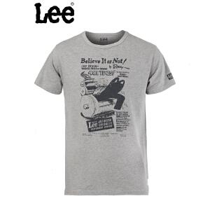 Lee 男士环保印花短袖t恤8784-5Y8R