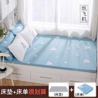 榻榻米床�|1.2米1.5m1.8m床�做 定制尺寸可拆洗可折�B打地�睡�|