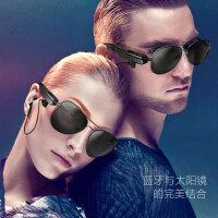 七夕礼物 智能蓝牙眼镜耳机MP3无线运动开车入耳式通话偏光太阳墨镜个性男
