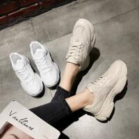 智熏鞋女户外时尚韩版百搭厚底老爹鞋休闲运动鞋子潮