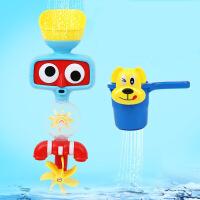 宝宝洗澡玩具戏水水轮玩具水瓢水轮水轮套装婴儿戏水玩具幼儿玩具
