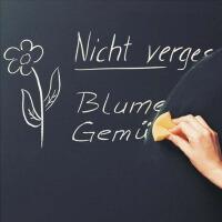 非磁性可移除环保黑板贴 107CM宽 儿童房涂鸦教学墙贴纸