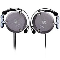 铁三角 ATH-EM7X 复刻版耳挂式耳机 运动挂耳式 灰色