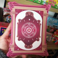 精灵梦齐娜的命运塔罗牌占卜塔罗牌齐娜的卡罗牌学生19张新版卡牌 新版19张 配精美原盒