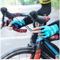 户外防晒骑行手套半指行车配件骑行装备男女士摩托车单车山地车自