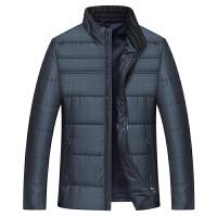 中年男装棉衣男士冬季立领短款中老年男冬季棉袄寒防服外套
