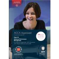 ACCA P5 Advanced Performance Management (Revision Kit) 高级业绩管理(练习册)9781509708659 ISBN