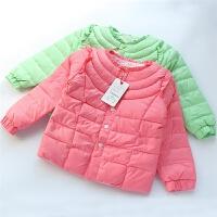 女童羽绒服内胆冬季新款宝宝白鸭绒棉衣棉衣棉袄外套