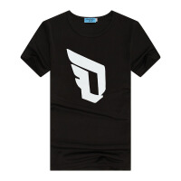 利拉德男篮球服短袖 定制版情侣T恤衫