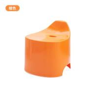 糖果色卫生间凳子 家用加厚型塑料凳子 浴室防滑凳椅创意小板凳