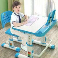 儿童学习桌椅 家用书桌写字桌小学生课桌椅简约男女孩可升降写字桌