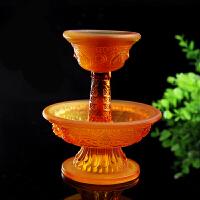 藏传佛教用品 水琉璃护法杯密宗法器修行八吉祥供杯
