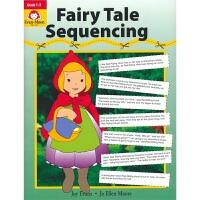 Evan-Moor Fairy Tale Sequencing 加州教辅 童话故事排序英文练习册 幼儿逻辑训练