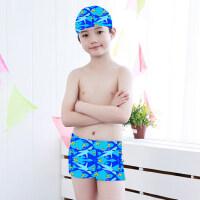 儿童泳衣泳裤男童游泳衣宝宝泳衣男孩分体中大童温泉泳衣套装