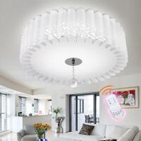 东联LED吸顶灯卧室灯温馨阳台灯水晶灯客厅灯具餐厅灯饰x385