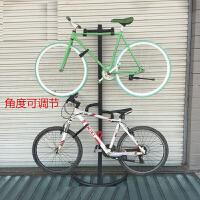 自行车挂架挂两台山地车公路车停车架展示架高强度靠墙壁挂钩