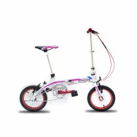 折叠自行车V刹减震山地车男女变速自行车学生单车学生山地车单车