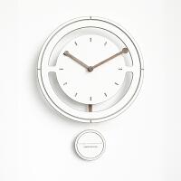 北欧钟表挂钟客厅个性创意时尚现代简约艺术大气卧室时钟静音家用