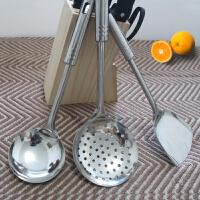 厨具套装 厨房锅铲套装 炒菜铲子汤勺漏勺不锈钢铲勺漏勺三件套 创意厨房用具