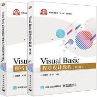 Visual Basic程序设计教程 第2版+题解答与实验指导 共2本 Visual Basic 6.0集成调试 VB