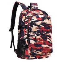 背包双肩包男时尚潮流旅行迷彩大容量学生休闲书包女韩版个性背囊
