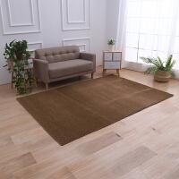 纯色北欧地毯卧室客厅茶几地毯床边地垫加厚软绒榻榻米地垫可定制