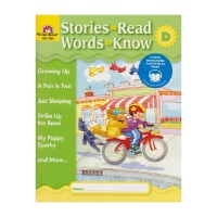 Evan-Moor Stories To Read Words to Know Level D 加州教辅 阅读学词汇系