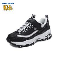 斯凯奇童鞋(Skechers)熊猫鞋 成人款 男童女童鞋经典魔术贴亲子运动休闲鞋 664060L (8岁―12岁)