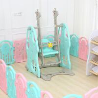 滑滑梯秋千儿童室内吊椅家用荡秋千宝宝摇椅滑梯秋千组合健身玩具