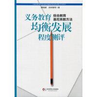 义务教育均衡发展程度测评:综合教育基尼系数方法【正版书籍,达额立减】
