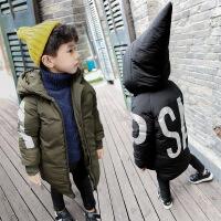 2017儿童棉衣韩版长款冬季加厚幼儿男童男宝宝棉袄男宝冬装潮