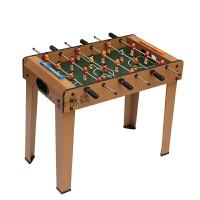 加大桌上足球 桌面足球�_ �和�足球 足球桌游�蜃又橇τ�� 3088木�y足球 高�_