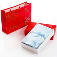 超细纤维毛巾礼盒套装定制logo单条装吸水柔软企业礼品回礼福利 73x34cm