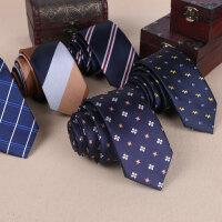男士正装领带男商务工作面试职业6CM结婚新郎英伦韩版休闲小领带