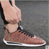 新款男鞋韩版抖音同款潮流百搭阿甘板鞋男士运动休闲跑步透气潮鞋