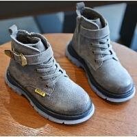 男童鞋冬季新款雪地靴靴子大棉鞋加绒短靴儿童马丁靴