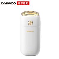韩国大宇(DAEWOO)便携款加湿器小型迷你 静音卧室孕妇婴儿车载喷雾补水办公室礼品礼物J1 白色