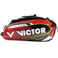 VICTOR胜利羽毛球包双肩背包男女比赛训练12支装手提包BR9207