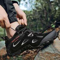 登山鞋男夏季透气户外鞋防滑耐磨山地鞋子男鞋越野旅行轻便徒步鞋