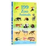 199个单词 动物园系列动物认知 199 Zoo Animals 英文原版绘本 儿童图文百科 儿童动物启蒙早教认知图画