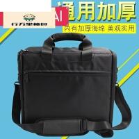 投影机包包 通用便携爱普生明基索尼NEC日立投影仪包包 中号cc定制 黑色