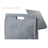 微软surface pro4平板3保护套Lap book电脑13.5寸毛毡袋内胆包世 烟灰Surface Pro 4/